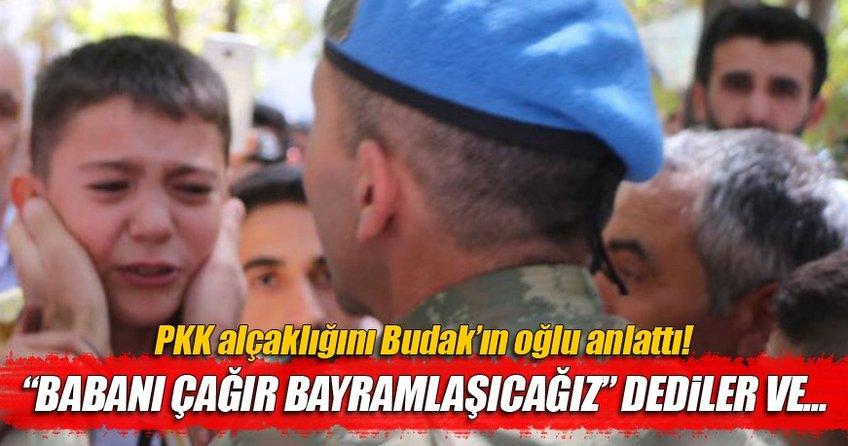 Akmet Budak'ın oğlu alçak cinayeti anlattı