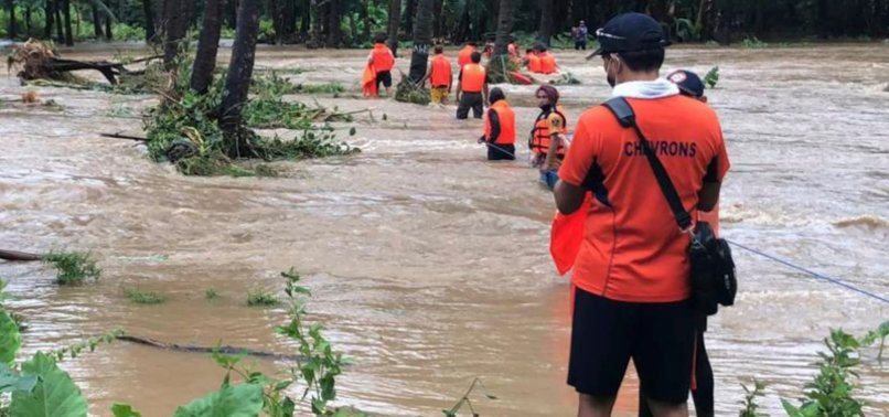 STORM KOMPASU LEAVES 30 DEAD, 13 MISSING IN THE PHILIPPINES