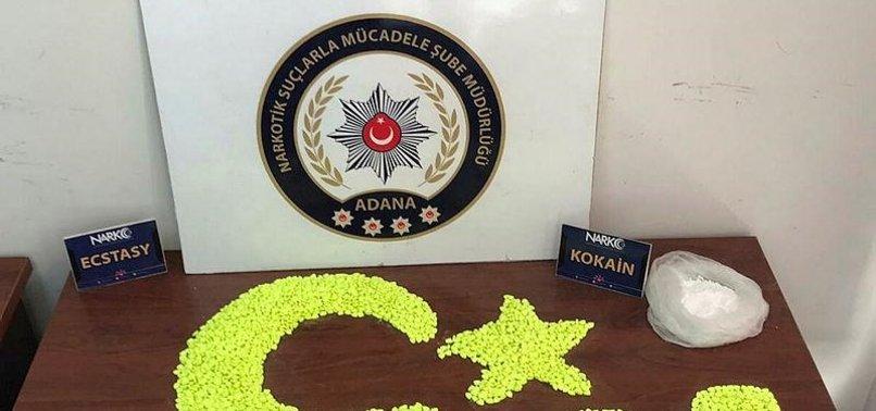 POLICE SEIZE 10,000 OPIATE PILLS, COCAINE IN S. TURKEY