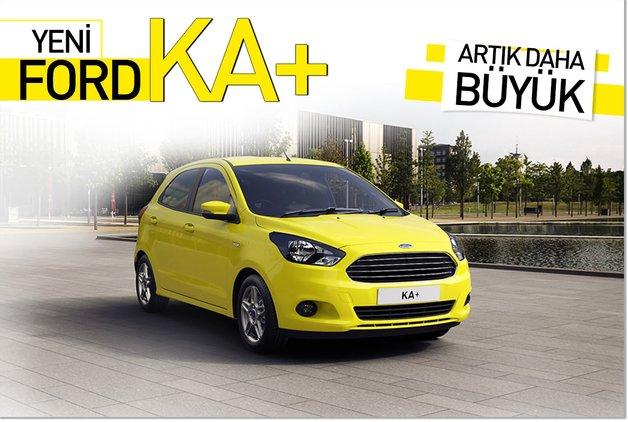 Yeni Ford KA artık daha büyük