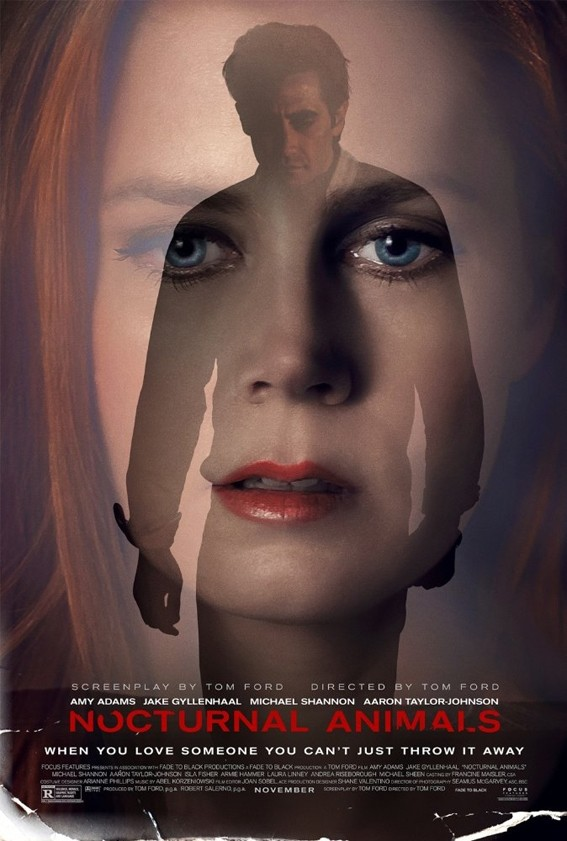 u201cNocturnal Animalsu201d stars Amy Adams as an unhappy gallery owner whose life is turned upside down when she receives a disturbing manuscript from her ex-husband, played by Jake Gyllenhaal.
