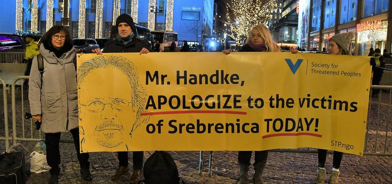 HANDKE RECEIVES NOBEL LITERATURE PRIZE AMID PROTESTS, CRITICISM