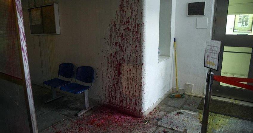 Atinada Türk Konsolosluğuna saldırı
