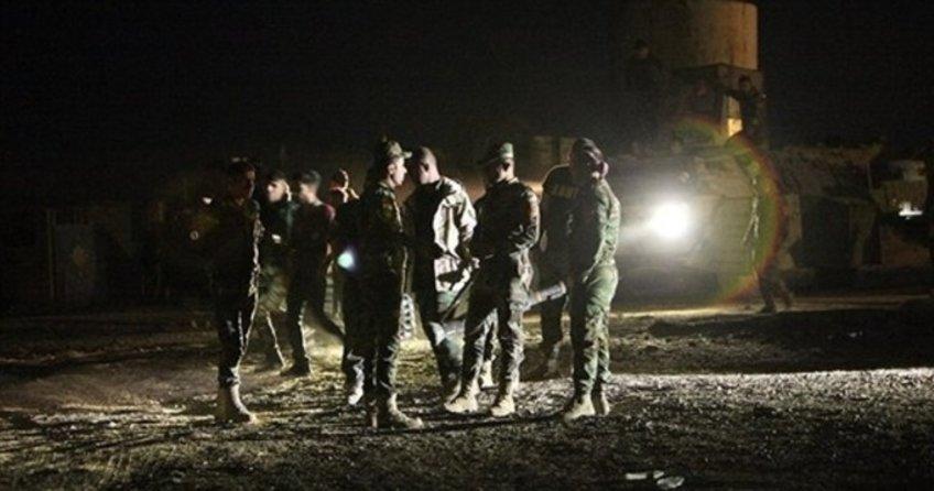 ABD askerleri Zerdek Dağı'nda