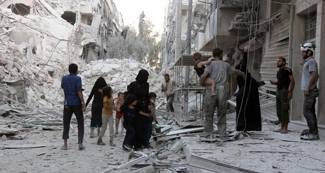 Turkey condemns regime airstrikes on Syria's Aleppo