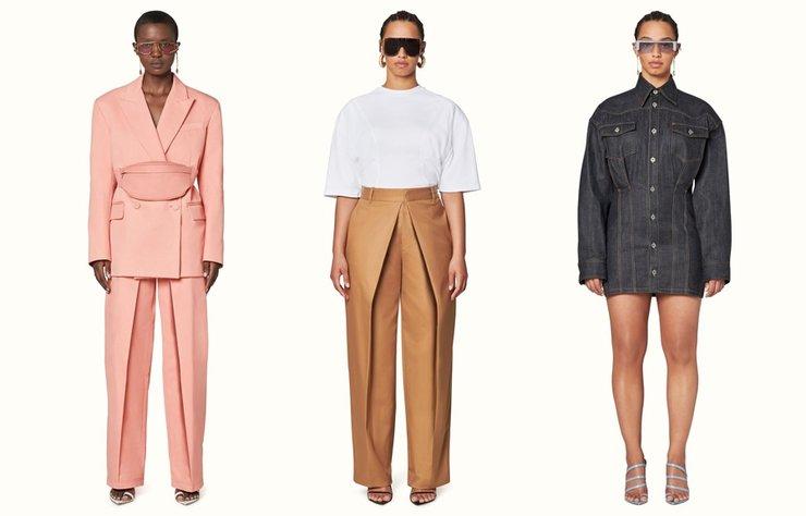 Müzisyen-tasarımcı Rihanna markası Fenty'nin ilk lüks moda koleksiyonunu sergiliyor.