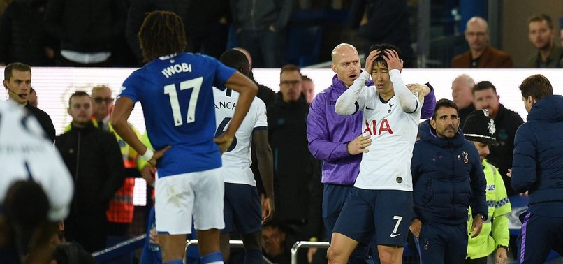 FA OVERTURN SPURS STRIKER SONS RED CARD FOR TACKLE ON EVERTONS GOMES