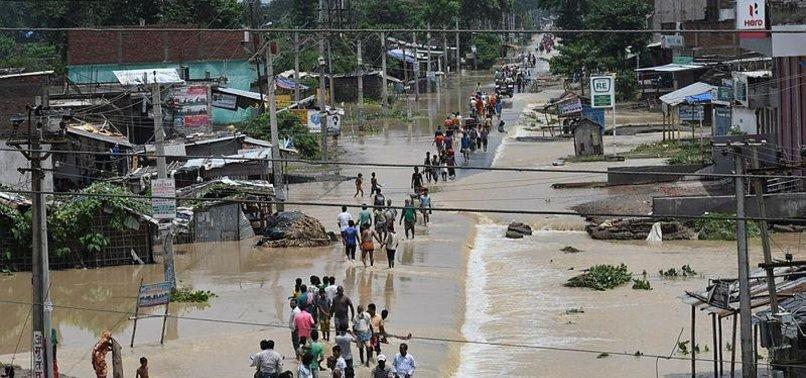 MONSOON RAINS KILL 17 IN NEPAL, 11 IN INDIA