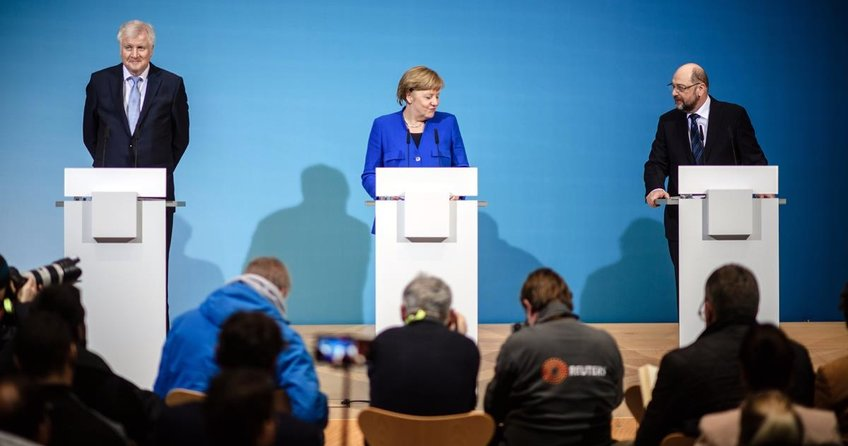 Almanya güçlü koalisyonda uzlaştı
