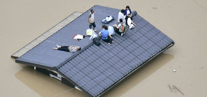 RECORD RAINFALL, FLASH FLOODS LEAVE 38 DEAD IN SOUTHWESTERN JAPAN