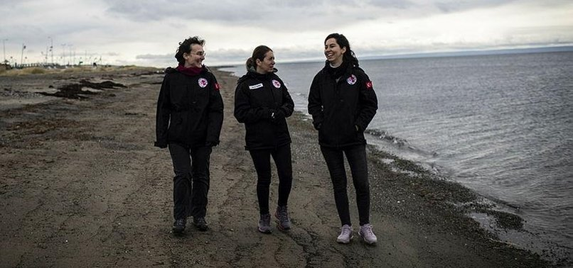 ANTARCTICA TEAM SHOWS WOMENS ROLE IN TURKISH SCIENCE