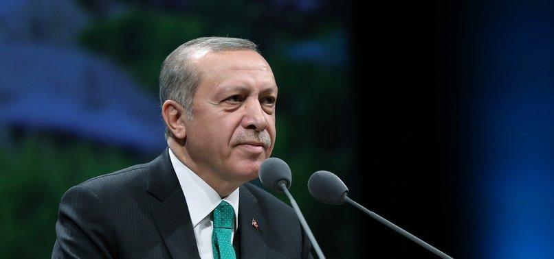 PRESIDENT ERDOĞAN SAYS FETO STOLE TURKEYS FUTURE, SPLIT UMMAH