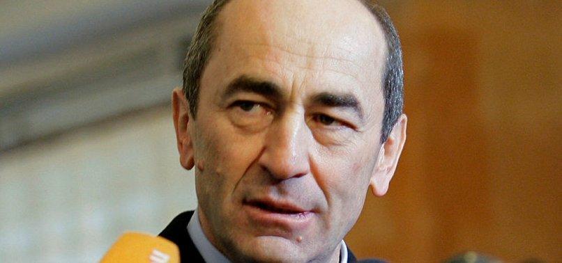 EX-ARMENIAN LEADER ARRESTED OVER DEADLY 2008 PROTESTS