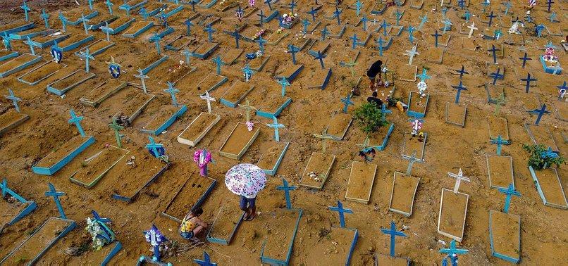 BRAZIL REPORTS 85,536 NEW CORONAVIRUS CASES, 2,211 DEATHS