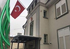 Türkiye'nin Zürih Başkonsolosluğuna yanıcı maddelerle saldırı meydana geldi