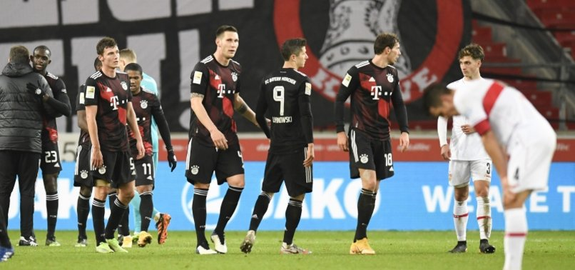 BAYERN MADE TO SWEAT FOR 3-1 WIN AT STUTTGART