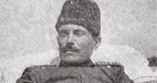Sedyede savaş yöneten kumandan: Süleyman Askeri Bey