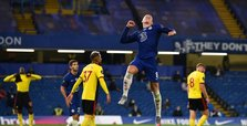 Barkley inspires Chelsea to 3-0 win over Watford in EPL