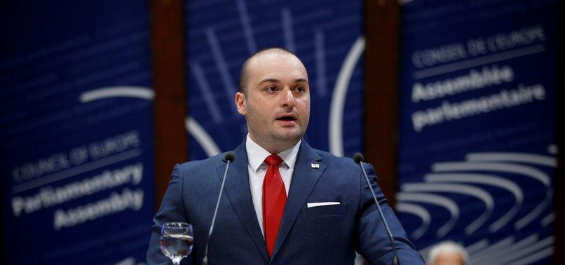 GEORGIAN PM BAKHTADZE ANNOUNCES RESIGNATION