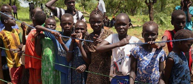 Güney Sudan'da milyonlarca kişi yerinden edildi