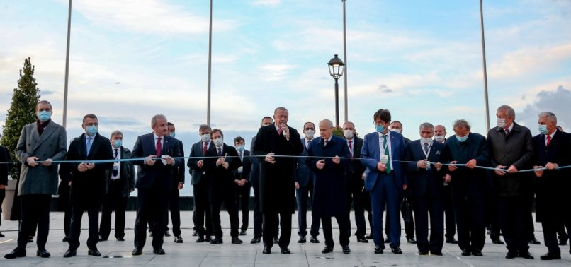 TURKEY INAUGURATES DEMOCRACY AND LIBERTIES ISLAND ON 60TH ANNIVERSARY OF MAY 27 COUP