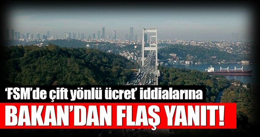 FSM'de çift yönlü ücret iddiasına Bakan Arslan'dan flaş yanıt!