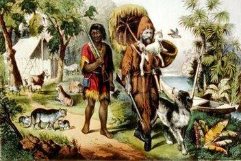 Az bilinen gerçekleri ile Robinson Crusoe