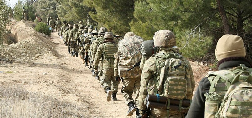 OVER 150 TARGETS CAPTURED IN AFRIN SINCE START OF MILITARY OPERATION