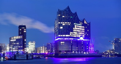 pHamburg's spectacular new Elbphilharmonie concert hall is finally hosting its first concert on Wednesday night, several years behind schedule and far over the original budget./p  pPresident...