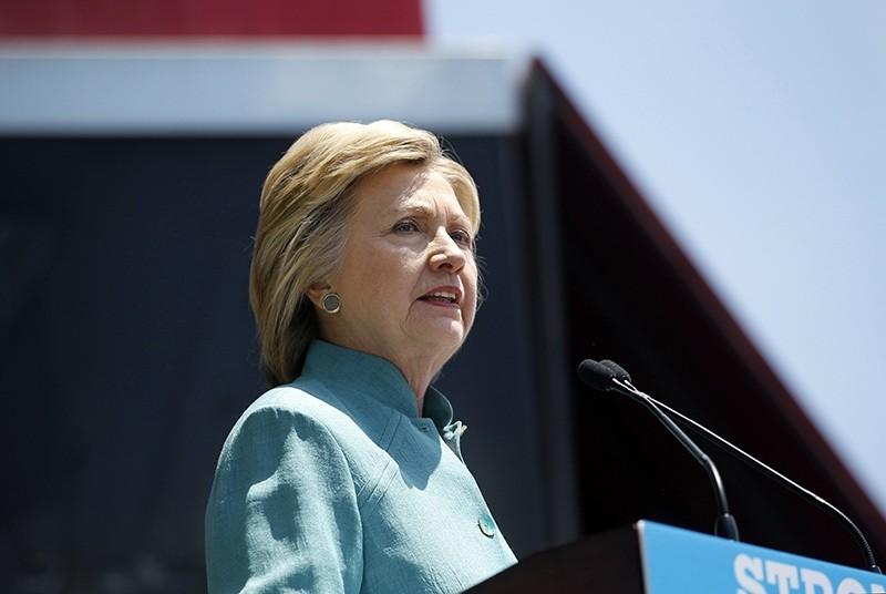 Democratic presidential candidate Hillary Clinton speaks on the Boardwalk in Atlantic City, N.J., Wednesday, July 6, 2016. (AP Photo)