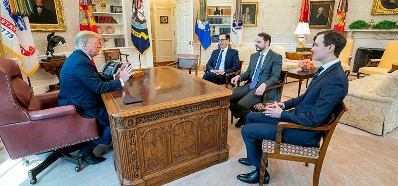 TURKEY'S FINANCE MINISTER, US PRESIDENT MEET IN WASHINGTON