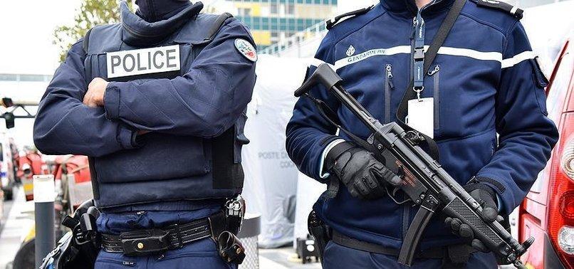 FRENCH POLICE BLOCK PYD/PKK DEMONSTRATION IN PARIS