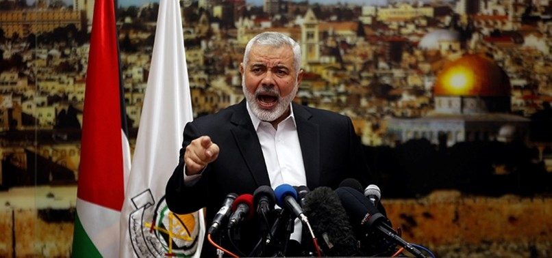 HAMAS CALLS FOR NEW INTIFADA OVER TRUMPS JERUSALEM MOVE