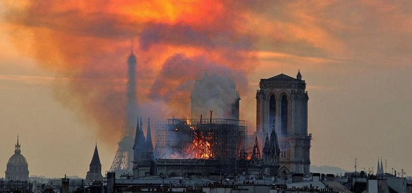 ALT-RIGHT EXPLOITS PARIS CATHEDRAL FIRE FOR ANTI-MUSLIM PROPAGANDA