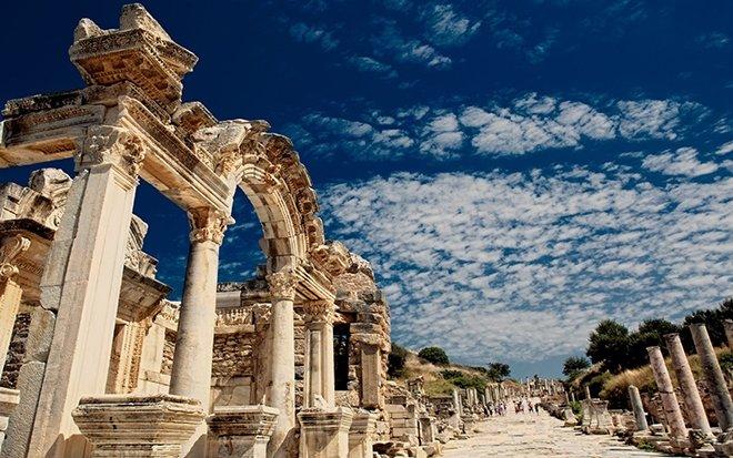 Efes Antik Kenti Galeri Fikriyat Gazetesi