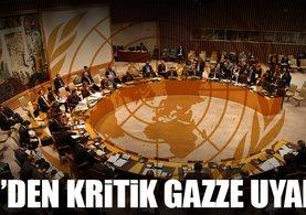 BM'den Gazze yeni bir krize sürükleniyor uyarısı
