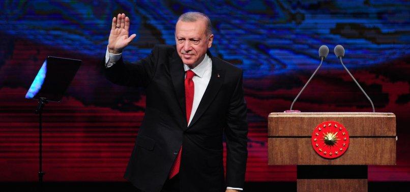TURKEYS ERDOĞAN POINTS OUT 365,000 SYRIANS RETURNED HOME