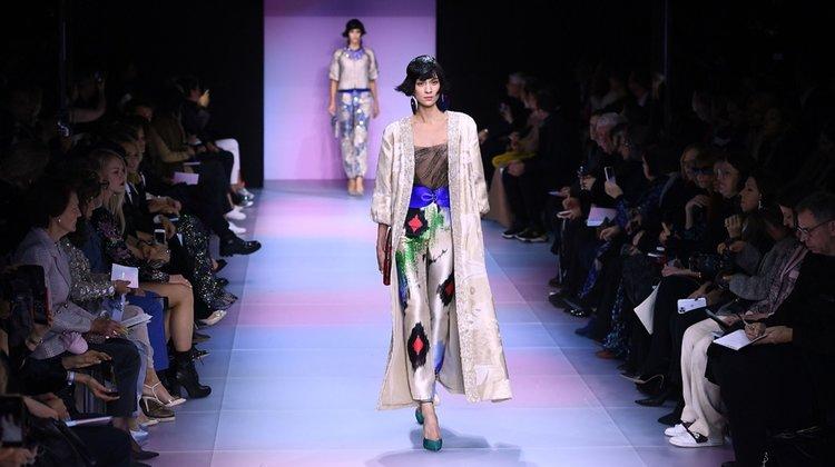 Giorgio Armani Prive Haute Couture İlkbahar/Yaz 2020