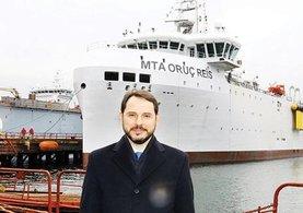 Milli sismik gemisi MTA Oruç Reis hizmete girdi