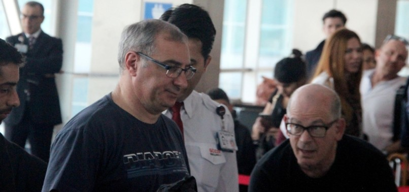 AIRPORT SECURITY-CHECKED ISRAELI ENVOY 'PURSUING CHEAP POLITICS,' FM ÇAVUŞOĞLU SAYS