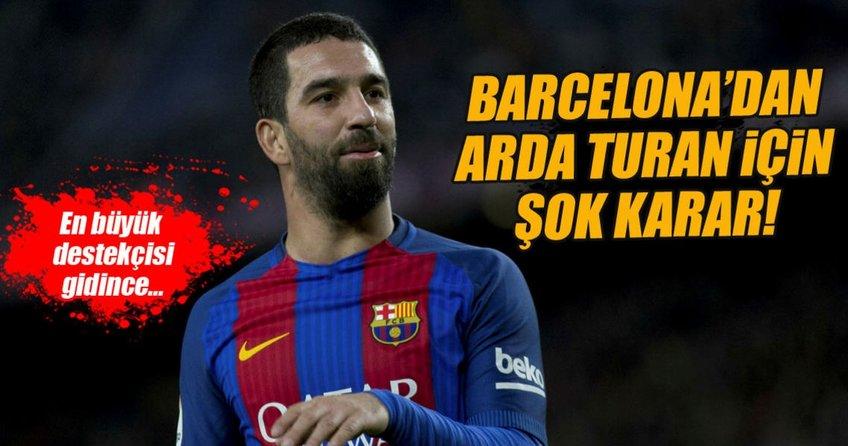 Barcelonadan Arda Turan için şok karar!
