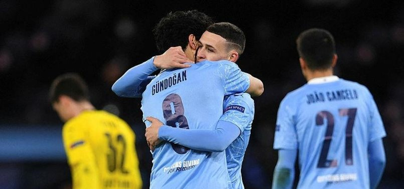 FODEN OUTSHINES HAALAND TO GIVE CITY 2-1 LEAD OVER DORTMUND