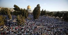 Palestinians protest Israeli ban on Al-Aqsa guards