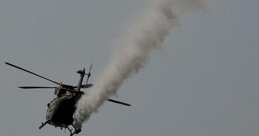 Afganistan'dan helikopter düştü: 8 ölü