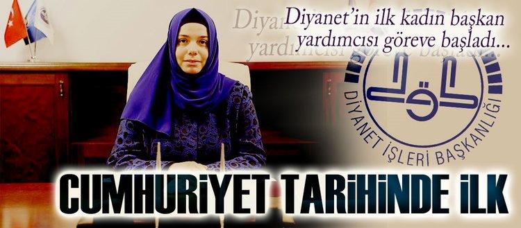 Diyanet'e kadın başkan yardımcısı atandı