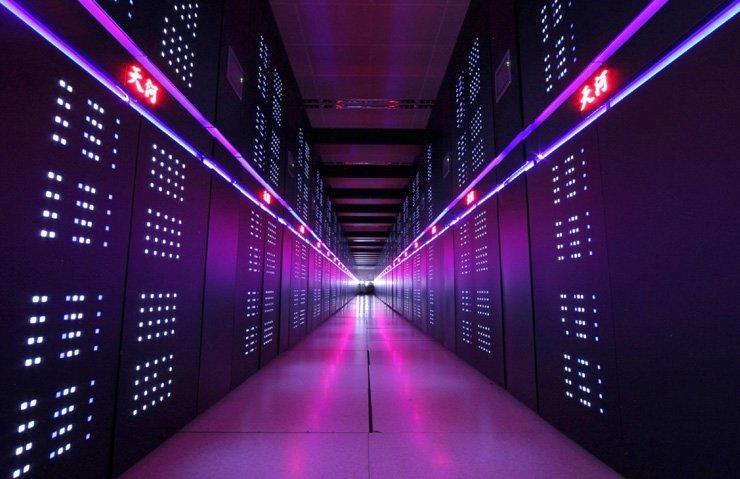 Çin'den en hızlı süper bilgisayar