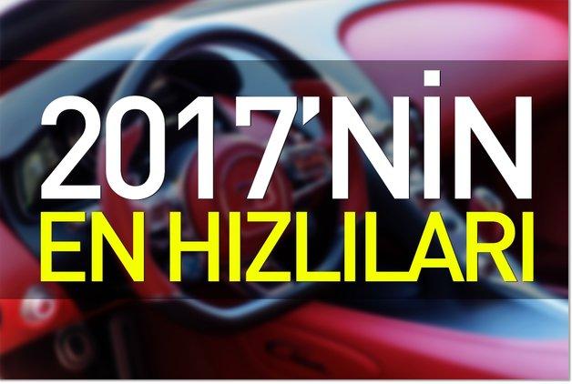 2017'nin en hızlıları