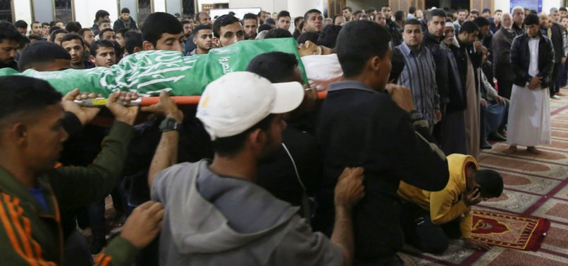 15-YEAR-OLD TEENAGER KILLED BY ISRAELI FIRE IN GAZA BORDER PROTEST