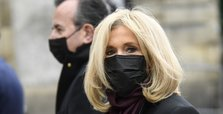 France's First lady in isolation after virus exposure