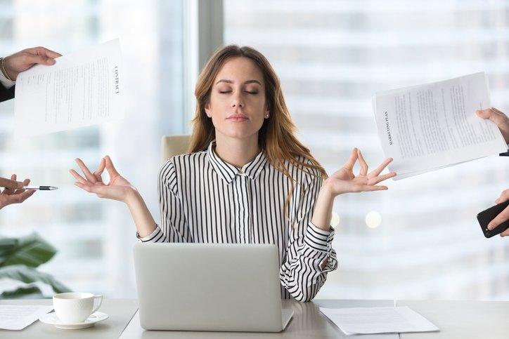 İş yerindeki stresi azaltmak için bunları yapın!